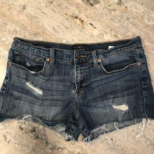 Lucky Brand Denim Shorts The Cut Off 12